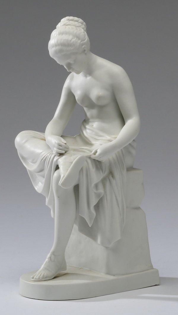 19th c. Continental bisque figurine
