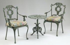 3-piece Wrought Iron Patio Set
