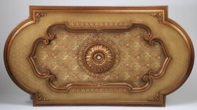"French Style Ceiling Panel, 89""l"