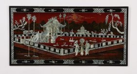 Chinese Mother-of-pearl Lacquer Wall Dcor