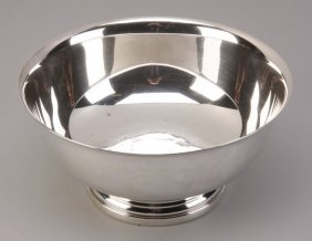 Gorham Silver Plate Footed Bowl, Marked