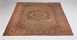 Semiantique Persian Tabriz rug 9 x 6