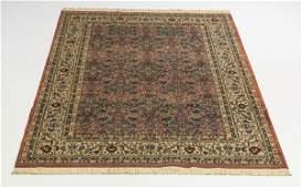 Karastan style carpet with Tabriz design, 7.5' x 5'