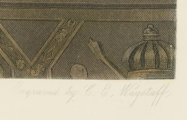 Late 19th c. hand colored engraving of Napoelon - 3