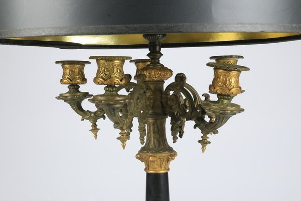 "Rococo Revival style table lamp, 39""h - 2"
