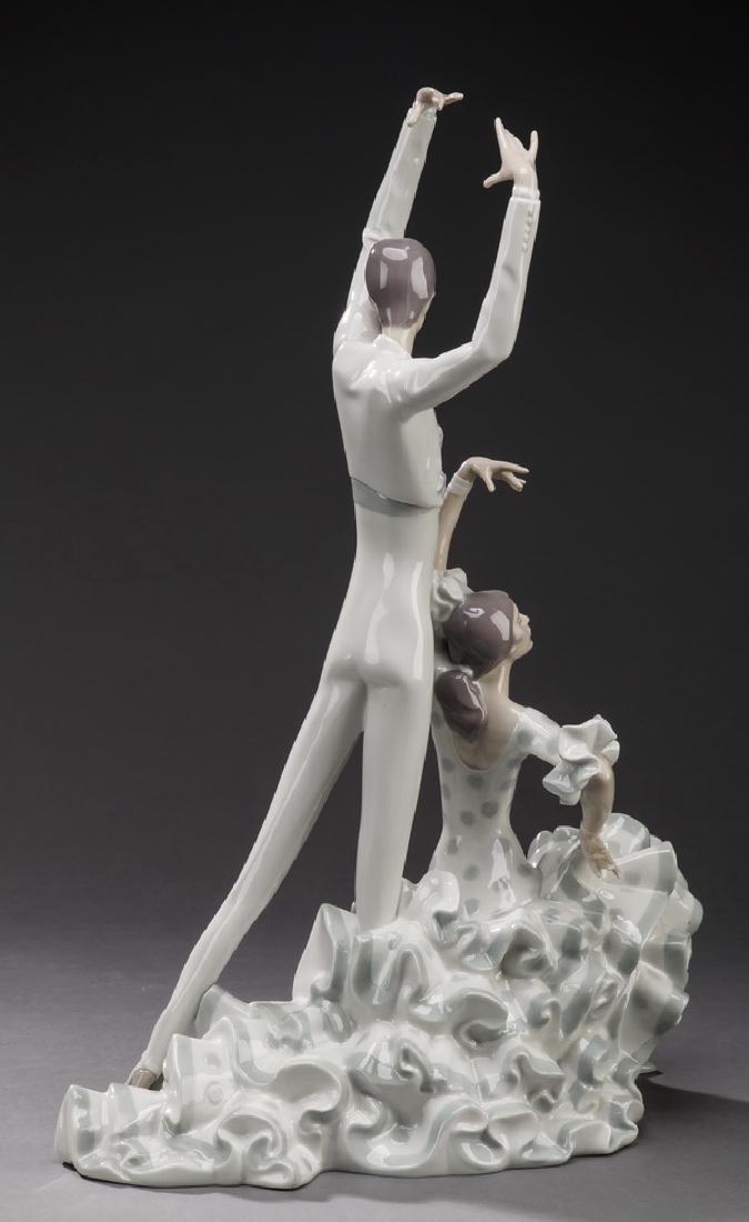 "Retired Lladro figure 'Flamenco Dancers,' 20""h - 2"