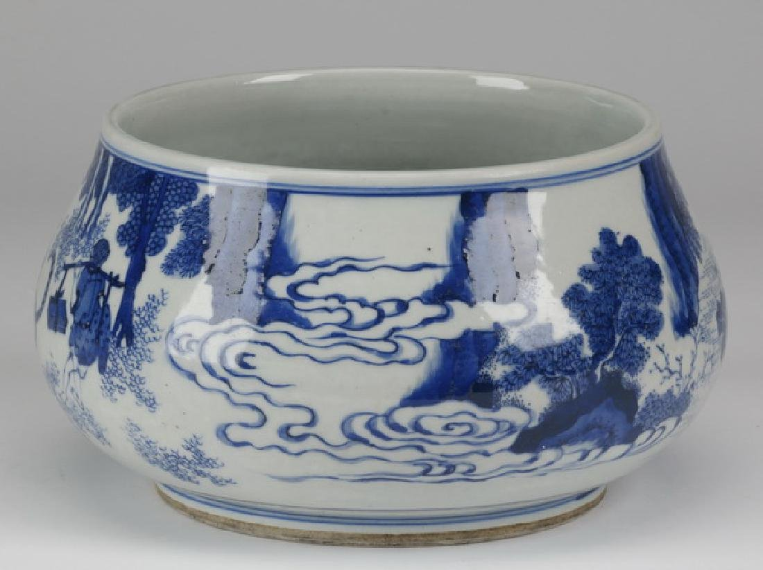 Chinese porcelain brush washer - 3