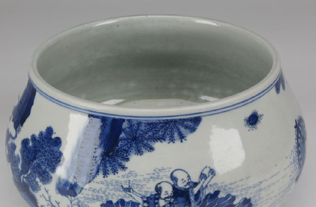 Chinese porcelain brush washer - 5