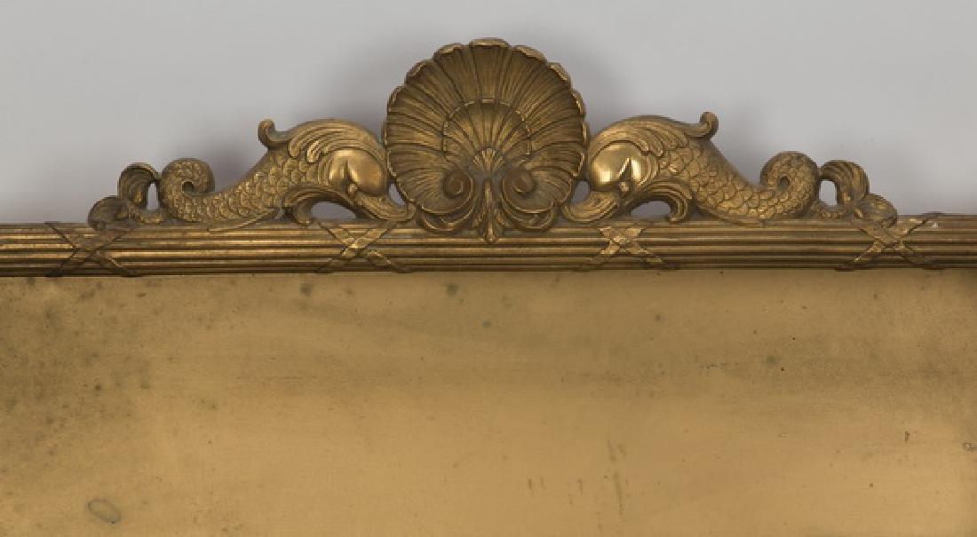 Neoclassical style gilt metal shadowbox - 2