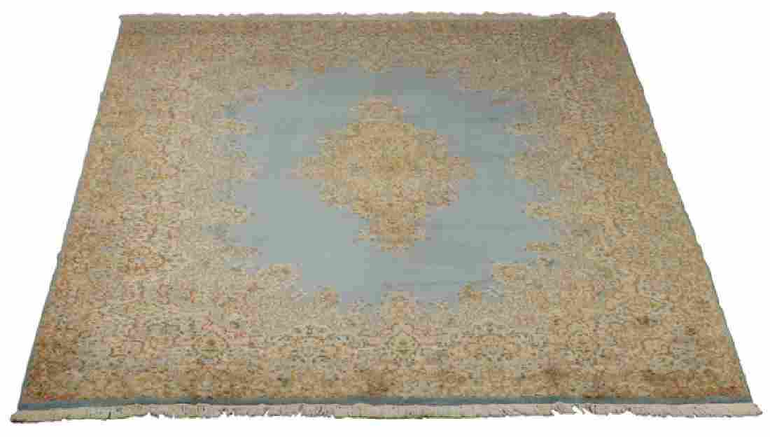 Early 20th c.hand knotted Persian Kerman rug, 14 x 10