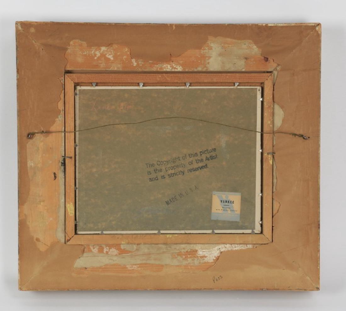 "Jos. Sloman O/artist board landscape, 14""h - 4"