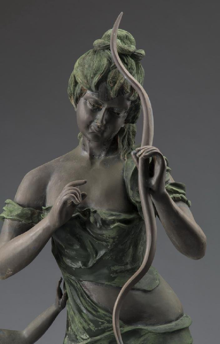 "Bronze sculpture of Venus disarming Cupid, 66""h - 3"