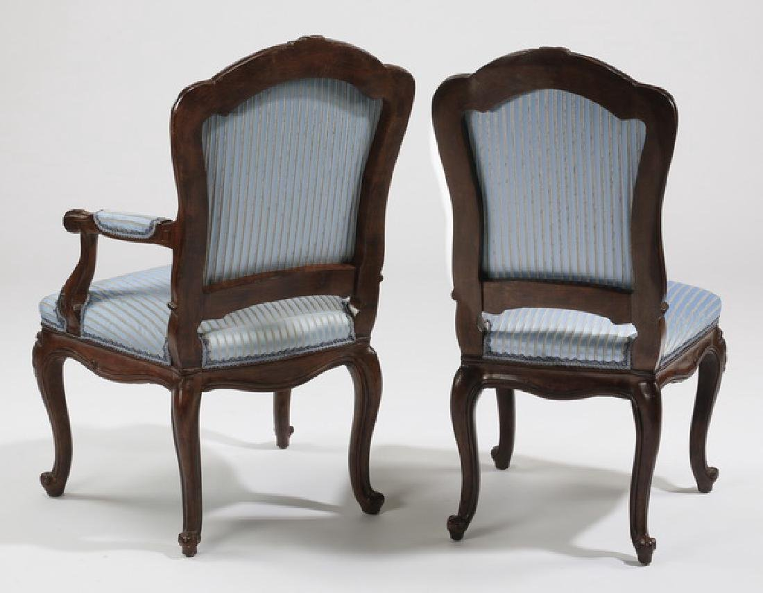 (8) French Provincial upholstered chairs - 3