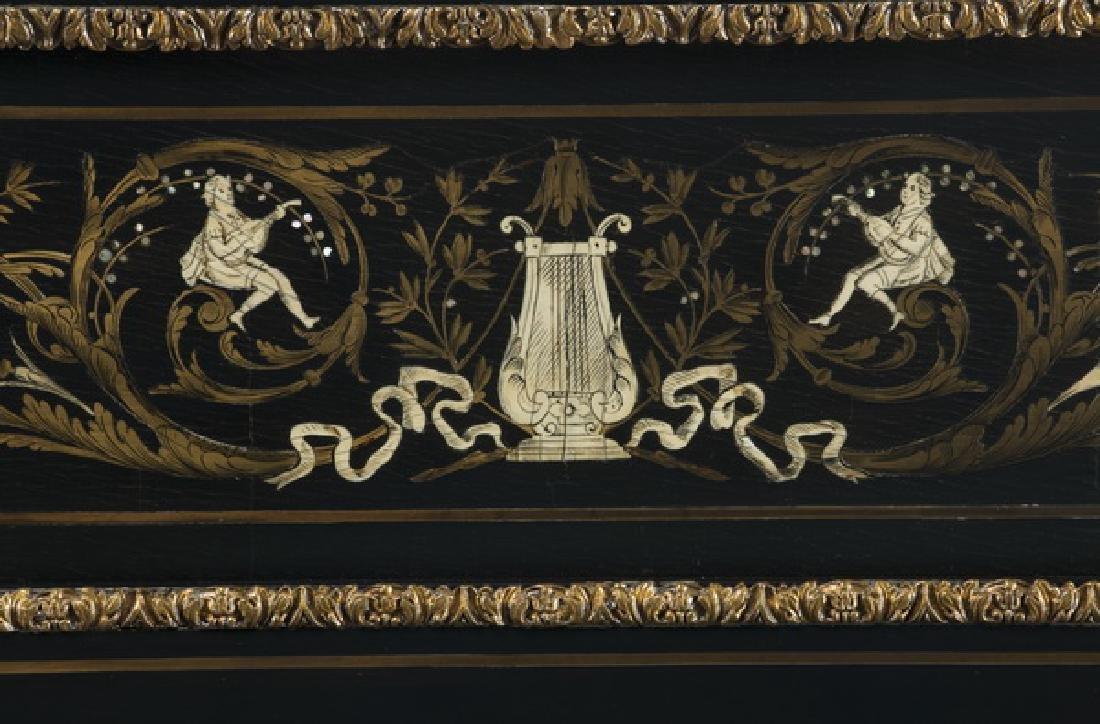 """Louis Benoit, France Exhibition piano, c. 1880, 47""""h - 5"""