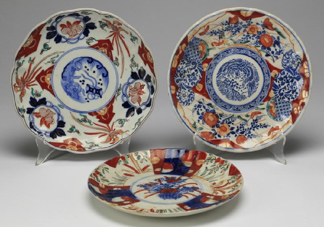 (6) Imari porcelain table articles - 3