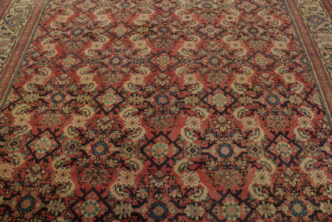 Hand knotted Persian wool rug, 9 x 12 - 2
