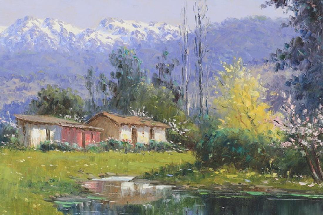 "European School O/c landscape, 33""w - 2"
