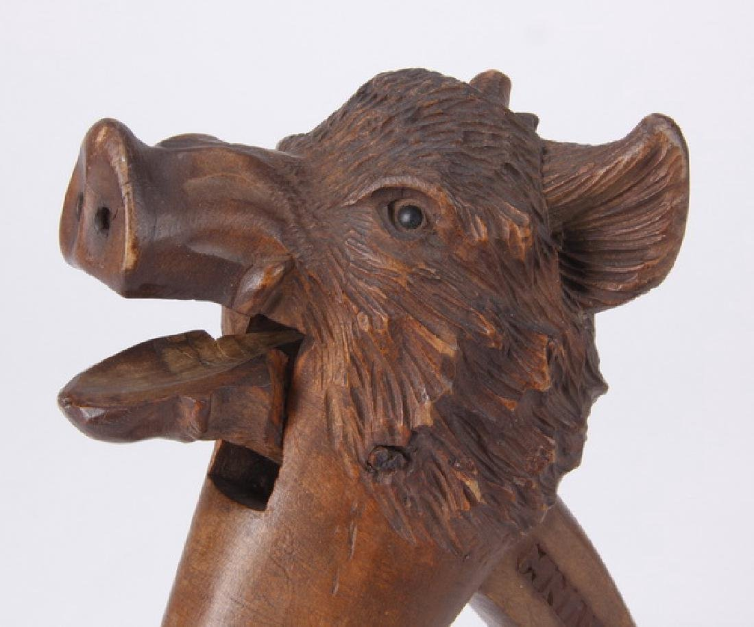 Black Forest carved nutcracker, early 20th c. - 3