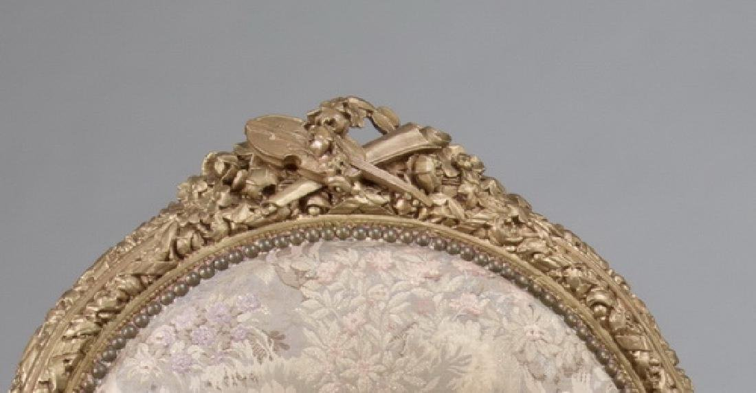 (2) Louis XVI style carved fauteuils, after Amaury - 3