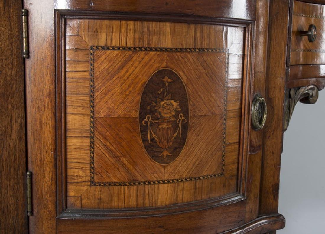 "Louis XV style parcel gilt dressing table, 83""h - 4"