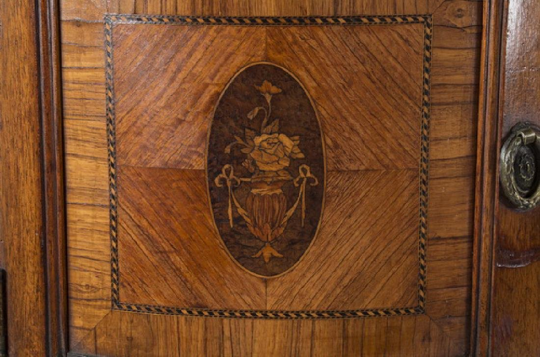 "Louis XV style parcel gilt dressing table, 83""h - 5"