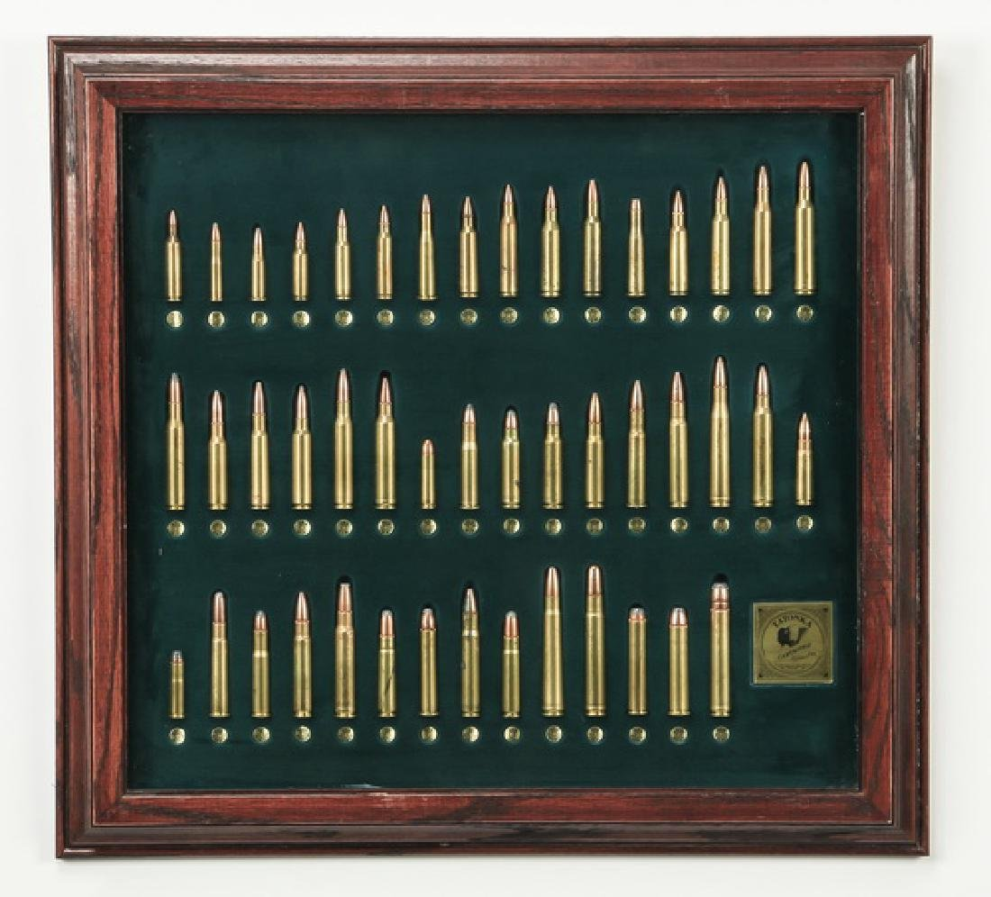 Framed rifle cartridges by Tatonka Cartridge, Texas