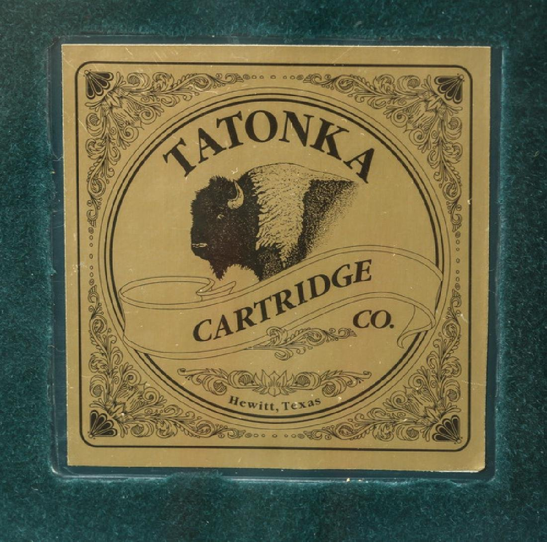 Framed rifle cartridges by Tatonka Cartridge, Texas - 2