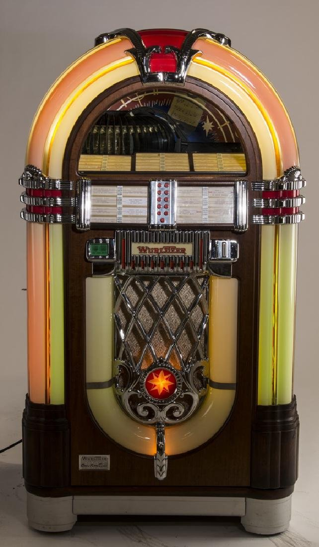 "Wurlitzer 'One More Time 1015' jukebox, 60""h"