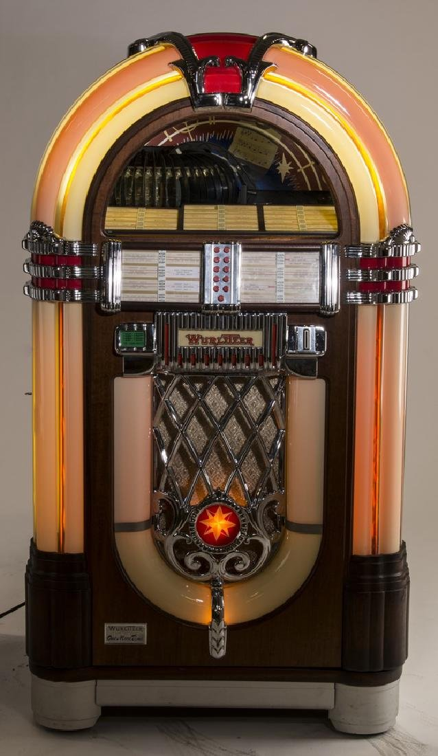 "Wurlitzer 'One More Time 1015' jukebox, 60""h - 2"
