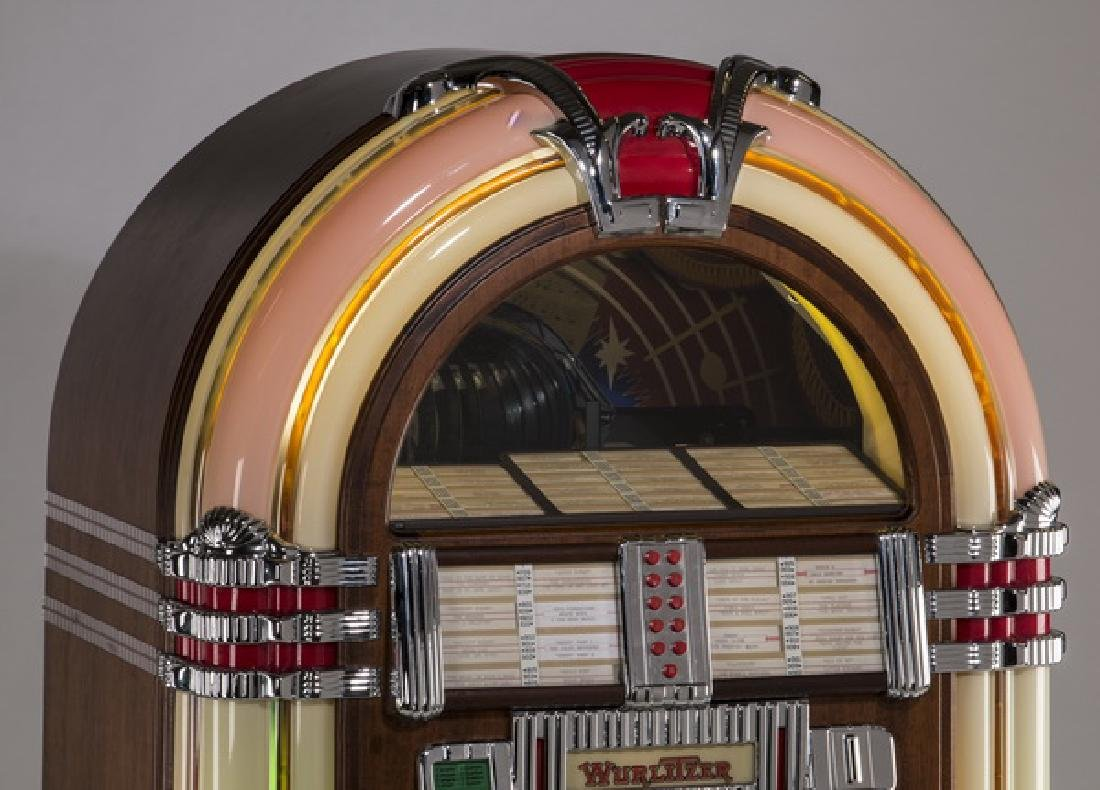 "Wurlitzer 'One More Time 1015' jukebox, 60""h - 3"