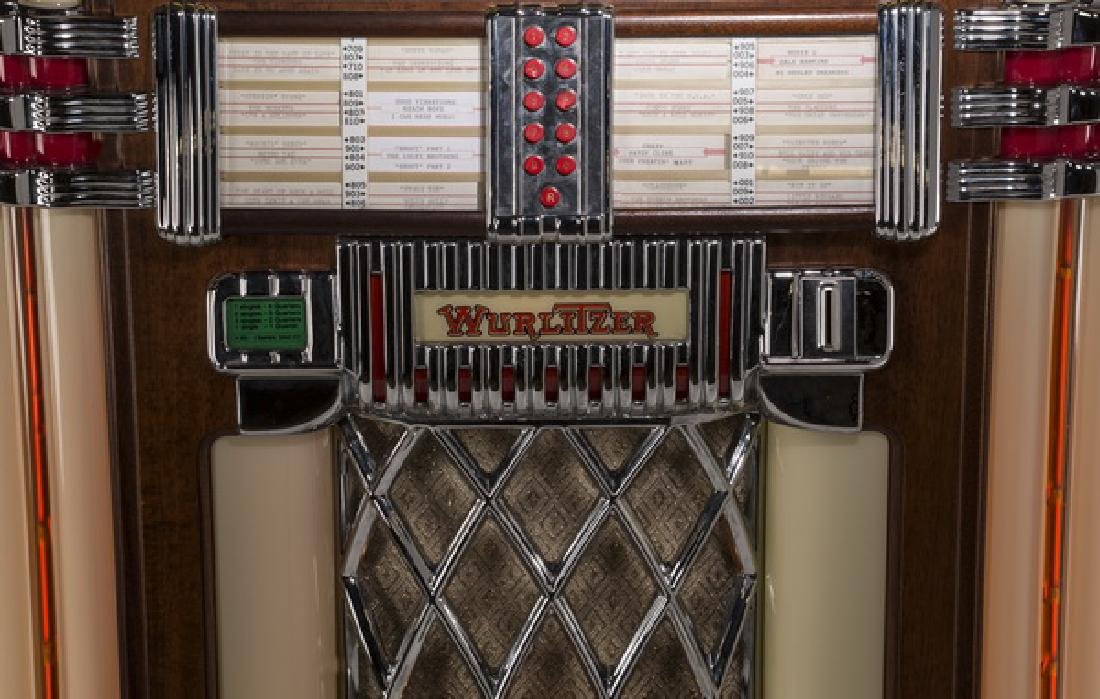 "Wurlitzer 'One More Time 1015' jukebox, 60""h - 5"