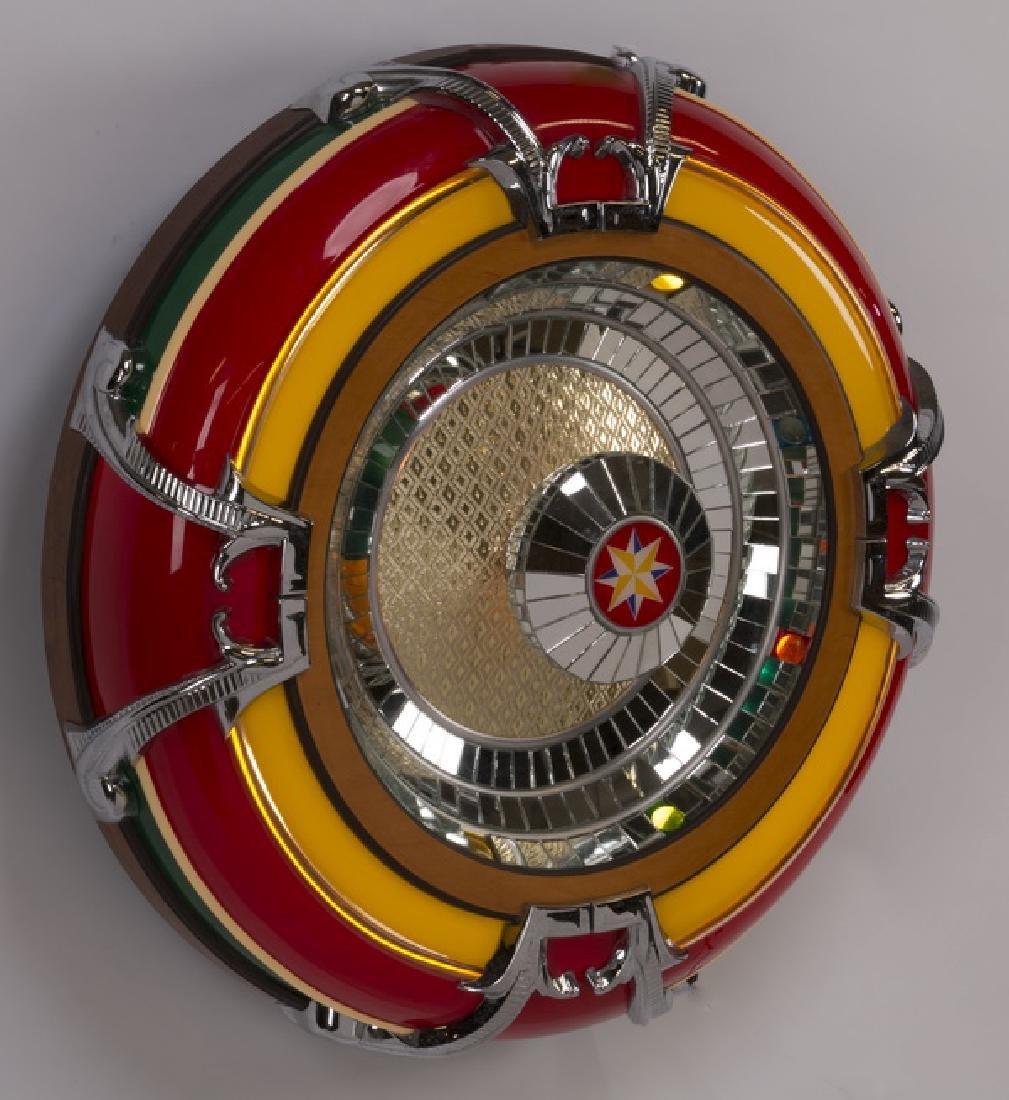 "Wurlitzer style 'Bubbler' jukebox speaker, 32""dia - 2"