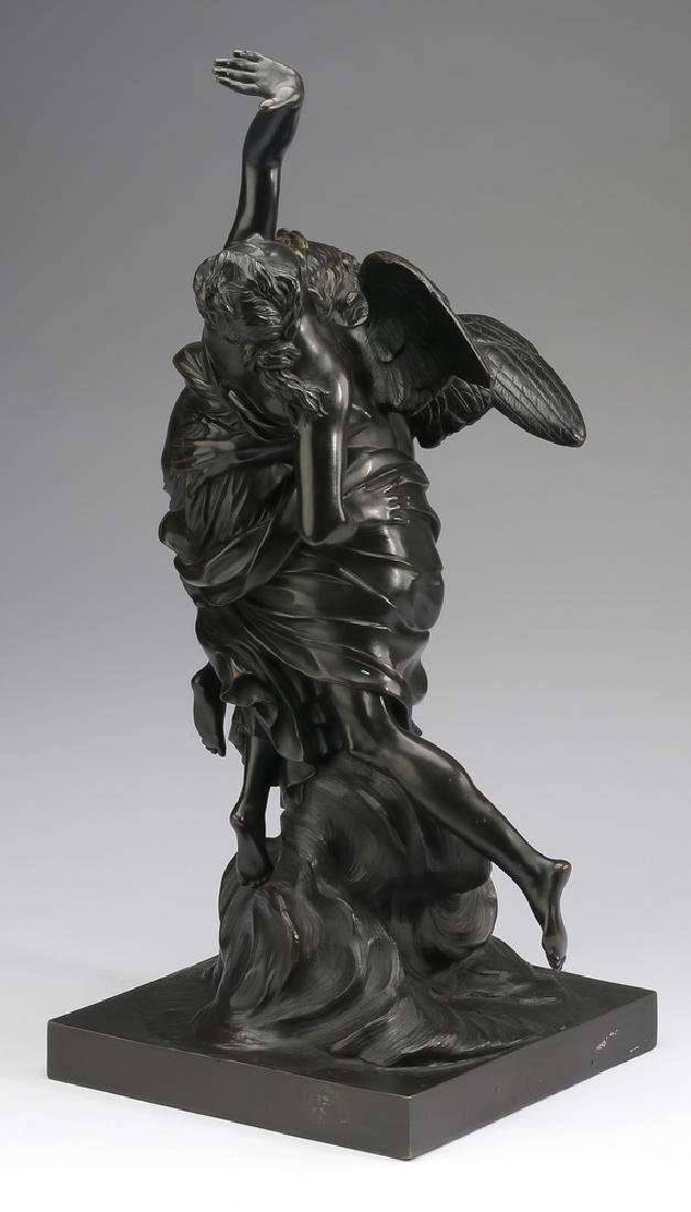 "19th c. French bronze after Simon Boizot, 20""h - 3"