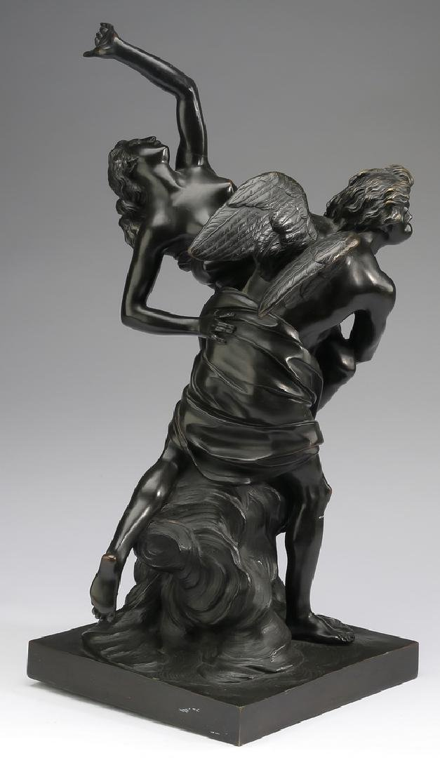 "19th c. French bronze after Simon Boizot, 20""h - 4"
