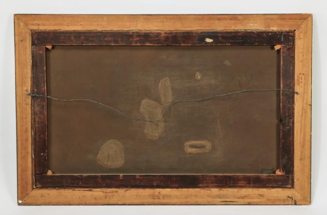 "George F. Bensell O/c signed,  'Ambush', 19th c., 57"" - 5"