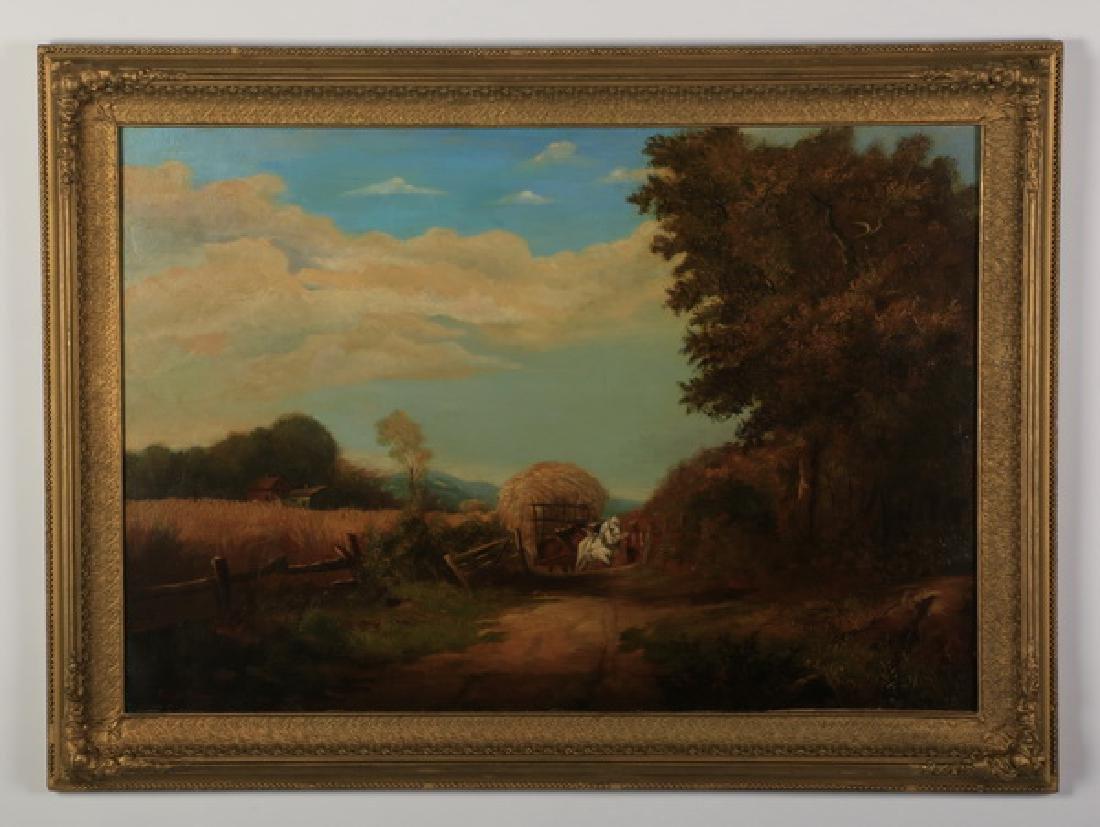 Arthur Trevor Hadden signed O/c ,Shropshire Landscape