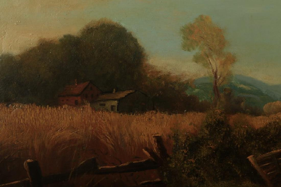 Arthur Trevor Hadden signed O/c ,Shropshire Landscape - 3