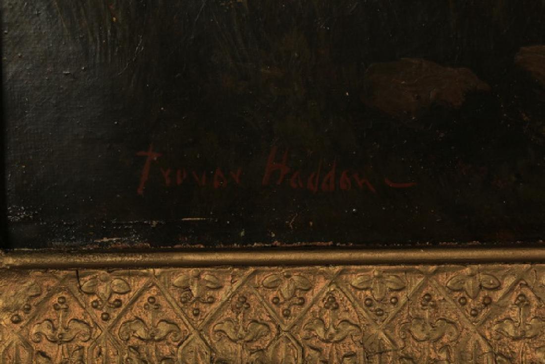 Arthur Trevor Hadden signed O/c ,Shropshire Landscape - 4