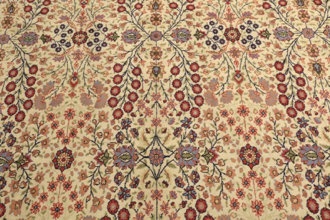 Hand knotted Turkish Hereke wool rug, 12 x 8 - 2