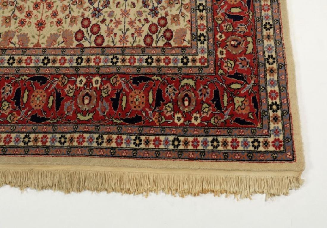 Hand knotted Turkish Hereke wool rug, 12 x 8 - 3