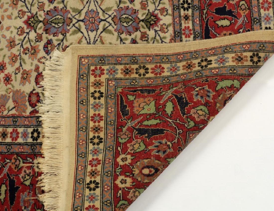 Hand knotted Turkish Hereke wool rug, 12 x 8 - 4