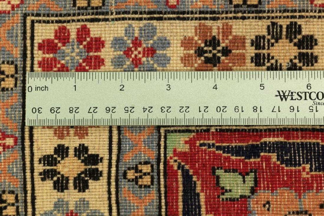Hand knotted Turkish Hereke wool rug, 12 x 8 - 5