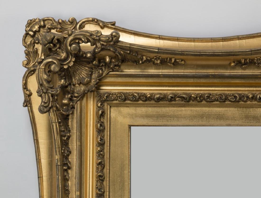 """Rococo style carved gilt wood frame, 40"""" x 50"""" - 2"""