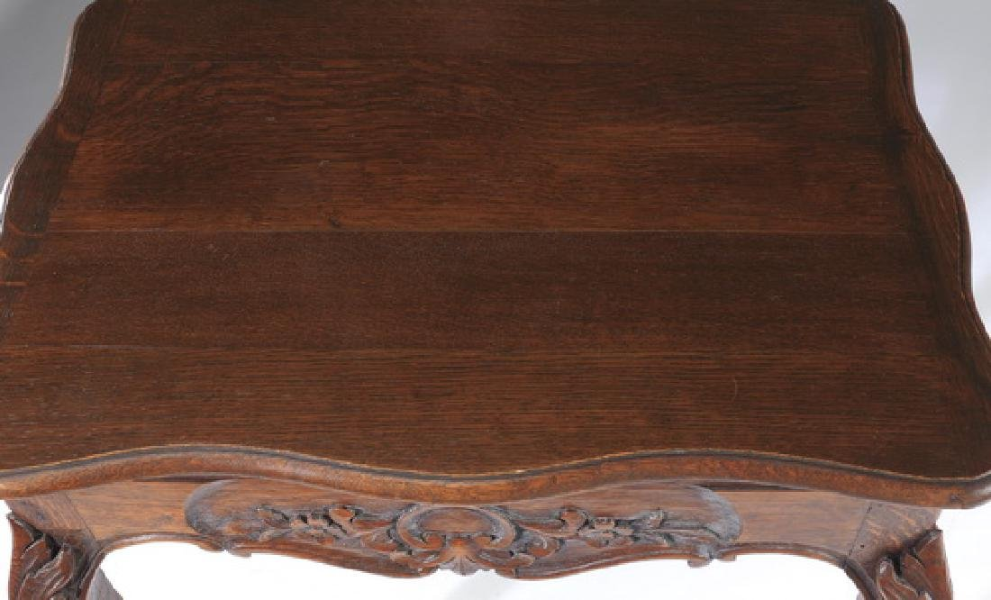 French Provincial walnut side table, 19th c. - 3