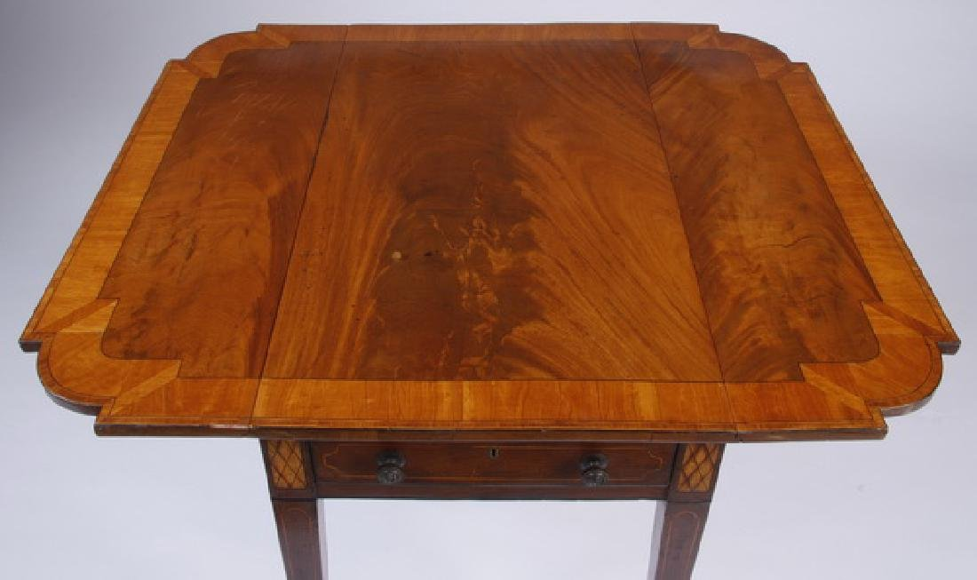 19th c. English mahogany Pembroke table - 2