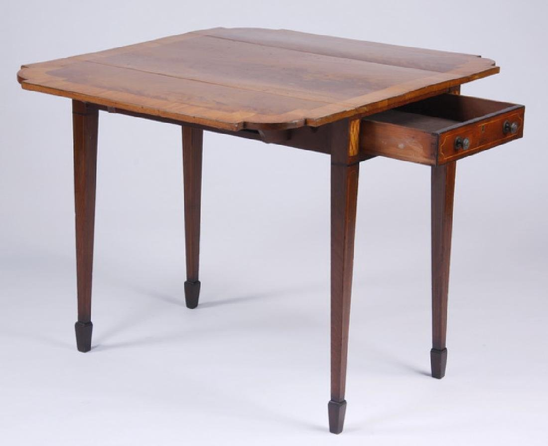 19th c. English mahogany Pembroke table - 3