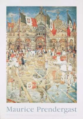 Prendergast Splash Of Sunshine And Rain Poster