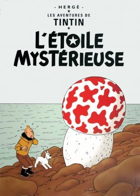 Tintin: L'etoile Mysterieuse Poster