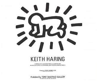 1983 Haring Radiant Baby Serigraph