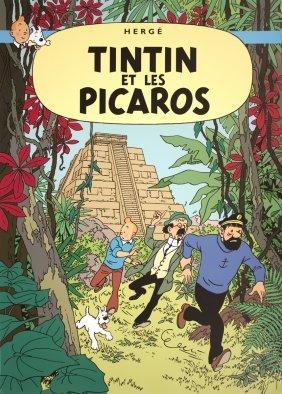 Herge Tintin Et Les Picaros Poster
